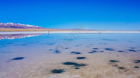 青海茶卡盐湖图片