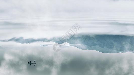 充满意境的中国风山水风光图片