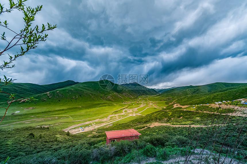 川西高原风景图片