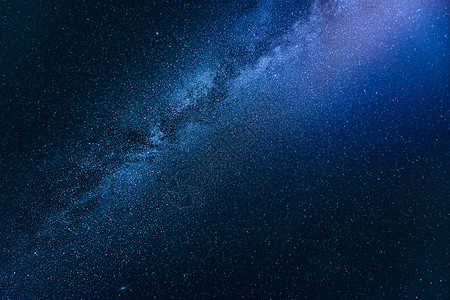 璀璨的银河图片
