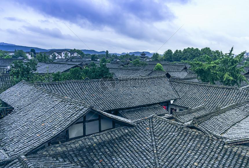四川阆中古城图片