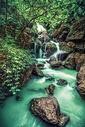 重庆武隆天坑瀑布图片