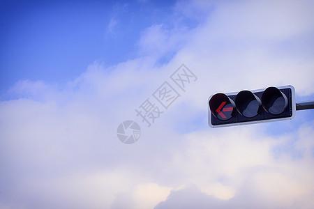 交通信号红绿灯图片