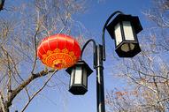 年味儿的红灯笼装饰图片