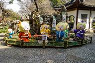 上海古猗园元宵花节图片