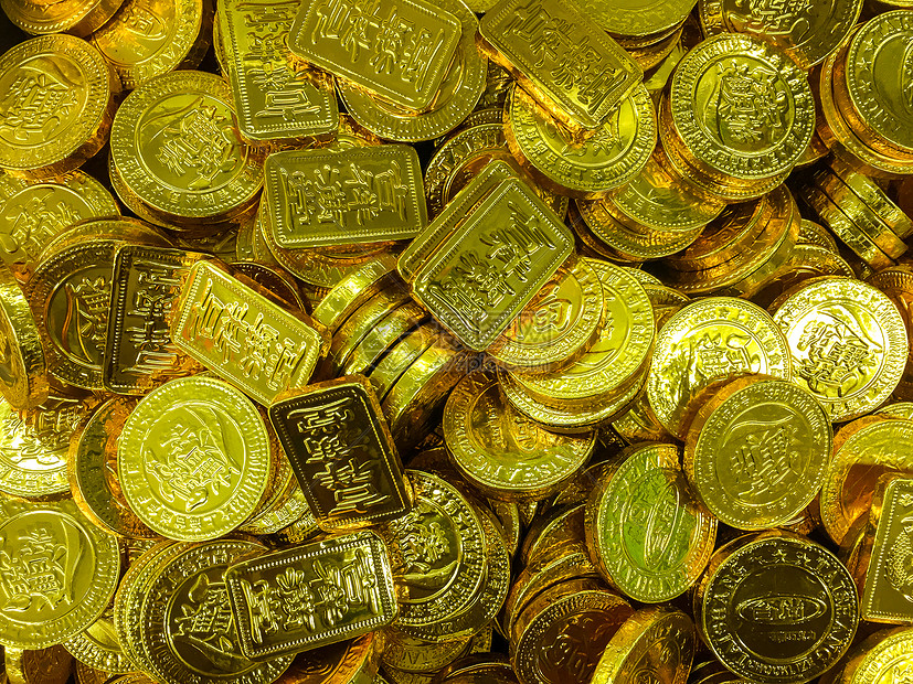 年货金币巧克力图片
