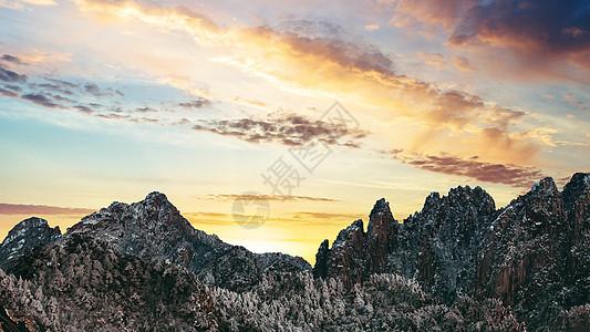 玉龙雪山的美丽雪景图片