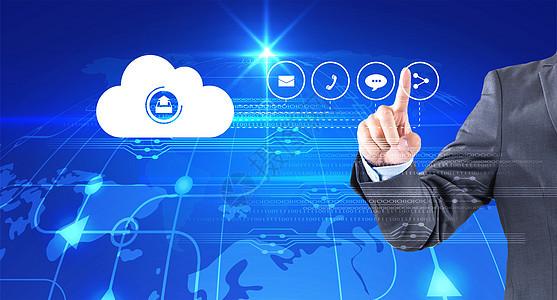 云技术科技背景图片