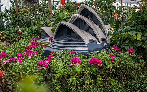 北京乐园世界微缩景观悉尼大剧院图片