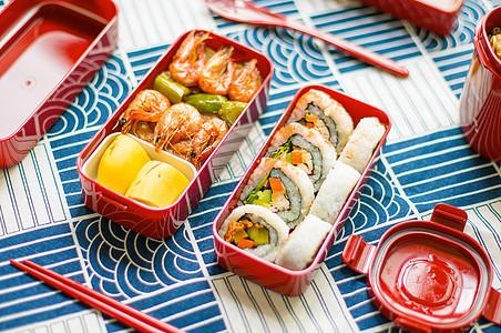 寿司餐盒图片