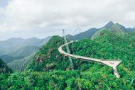马来西亚兰卡威天空之桥图片