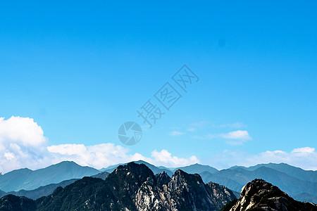 黄山全景图片