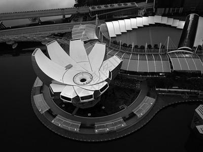 航拍新加坡艺术博物馆图片