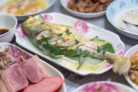 中式餐饮美食年夜饭图片