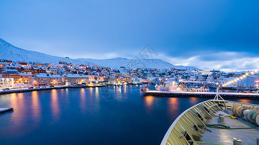北欧小镇图片