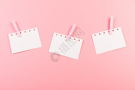 粉色便簽留言板創意背景高清圖片