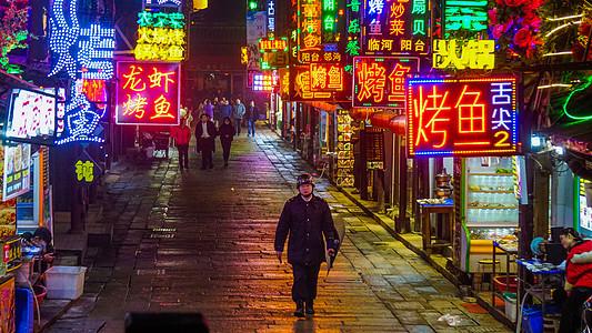 武汉街景_雨后的街道高清图片下载-正版图片500519919-摄图网