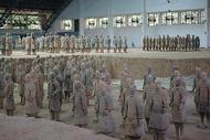 西安秦始皇陵兵马俑图片