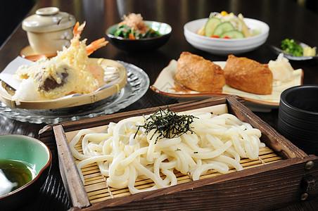日式乌冬面套餐图片