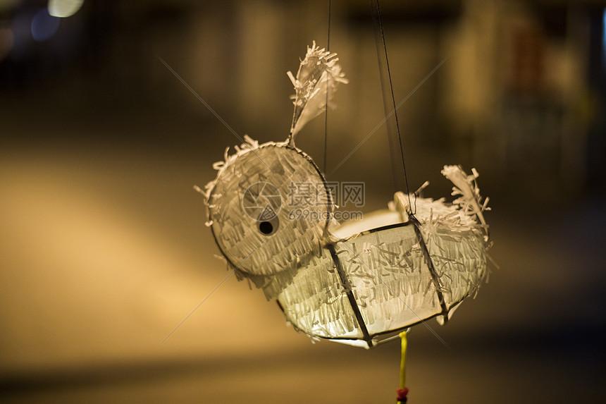 元宵佳节兔子灯图片