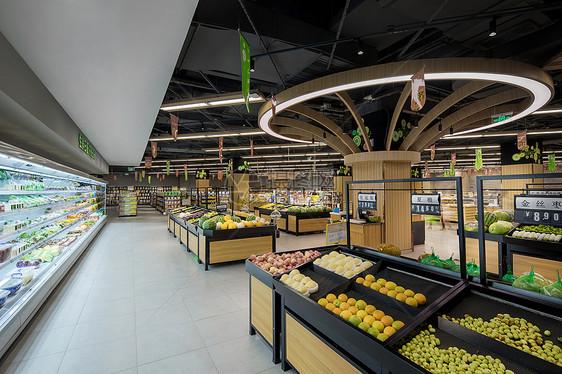 生鲜超市图片