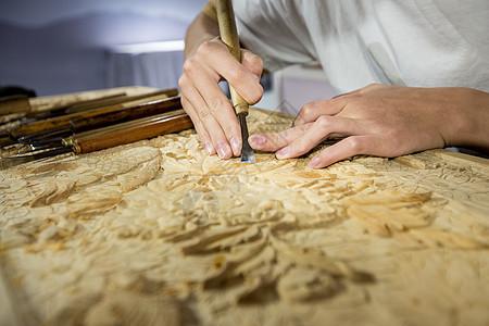 匠心木雕图片