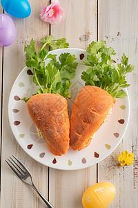 创意儿童食品面包图片