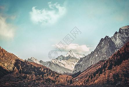 终年积雪的高山图片