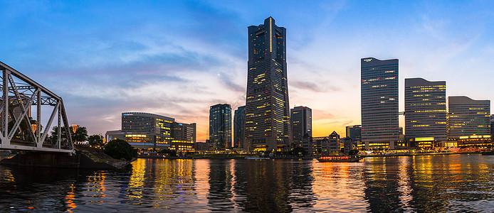 日本横滨城市景观图片