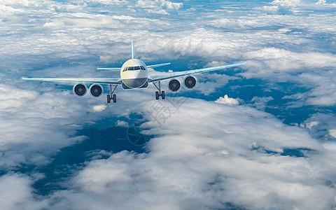 航空飞机背景图片