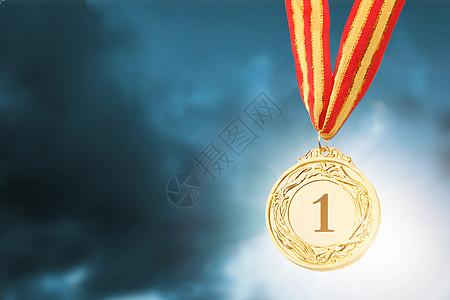 冠军奖牌图片