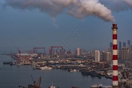 大连港口图片