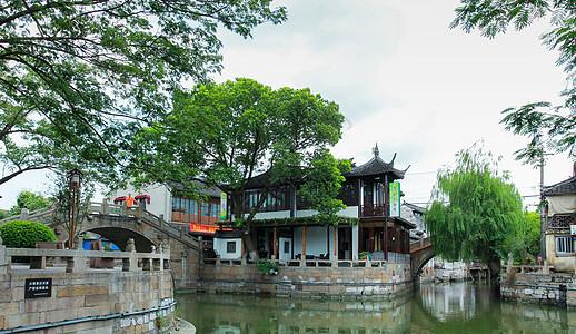 上海著名古镇枫泾古镇picture