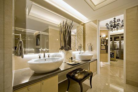 浴室卫生间实拍图家居摄影图片