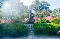 杭州孤山鲁迅纪念铜像图片