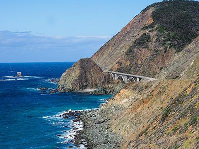 加州一号公路太平洋图片