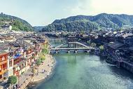 凤凰古城全景图片