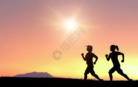 奔跑马拉松图片大全