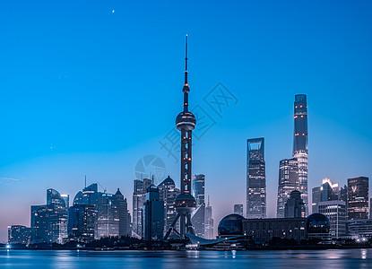 上海外滩城市夜景图片