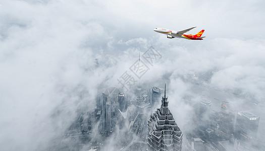 飞跃城市图片