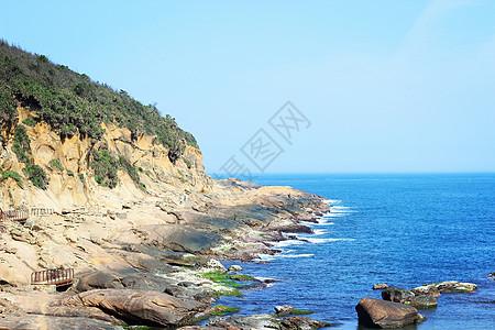 台湾基隆市野柳公园海景图片