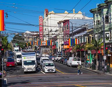 旧金山卡斯楚街图片
