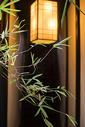 中式建筑和灯笼图片