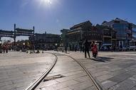 北京前门大街图片
