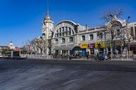 北京前门大街旁老火车站图片