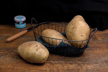 营养丰富的土豆马铃薯图片