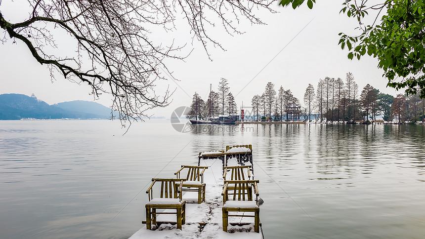 武汉东湖落雁景区图片