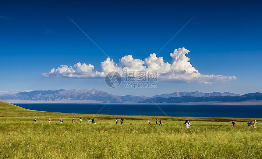 新疆赛里木湖美景美图图片