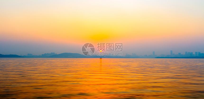 武汉东湖风光图片
