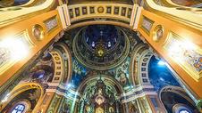 伊尔库茨克喀山大教堂内部图片